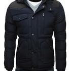 Куртка мужская зимняя ,темно-синяя мужская куртка
