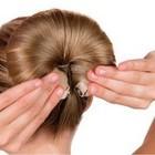 ДЛЯ ВОЛОС - спонж для формирования причёски Гусеничка - выгодные условия доставки