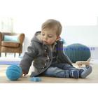 Пальто детское для мальчика (2-6лет)