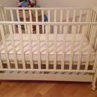 Продам кроватку с матрасом (Италия) 1300*70