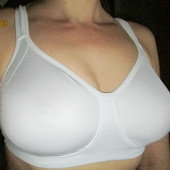 Белый бюстик 38в