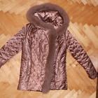шикарная зимняя куртка-пальто