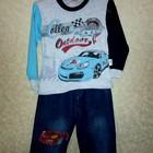 Костюм для мальчика джинсы и батник