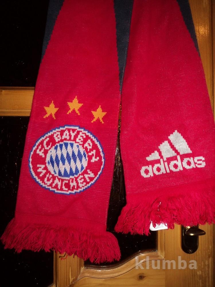 Футбольний шарф .Ліга Чемпіонів.Баварія.Оригінал. фото №1
