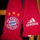 Футбольний шарф .Ліга Чемпіонів.Баварія.Оригінал.