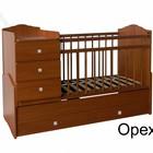 Детская кроватка-трансформер 3 в 1+матрас в подарок!