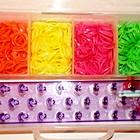 Loom Bands набор 1500 разноцветных резинок, для плетения браслетов оптом, розница