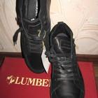 ботинки Lumberjack,раз 42-42.5,по стельке 27-28см,натуральная кожа и натуральная замша