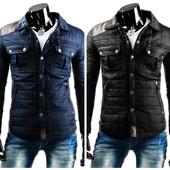 Мужская весенняя куртка ,стеганная мужская куртка на весну