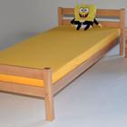 Кровать односпальная буковая