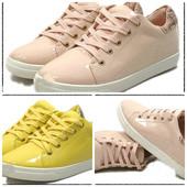 модные женские лаковые кроссовки, ботинки