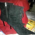 Высокие ботинки на меху, Loretta Pettinari Италия, б/у, р-р 39 (можно 38)