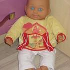 Кукла пупс храпит 32 см