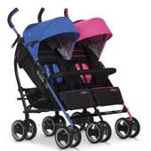 EasyGo Duo Comfort коляска трость для двойни