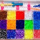 Rainbow Набор Rainbow Loom Bands радужные, разноцветные резинки, для браслетов. оптом розница