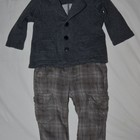 9 - 12 месяцев Зара ZARA Обалденно стильные штаны галифешки для девочки или мальчика утеплителены