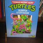 детская книга английский язык Черепашки нинзя