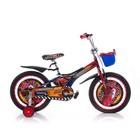 Мустанг Пилот Тачки Молния Маквин  с корзиной 12 16, 18  детский велосипед Mustang