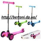 Детский самокат скутер трехколесный bb3-018