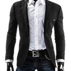 Пиджак мужкой чернйи класичний, жакет мужской