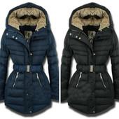 Зимние женское пальто под  поясок