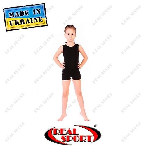 Комбинезон тренировочный для танцев, хореографии, гимнастики хлопок фото №1