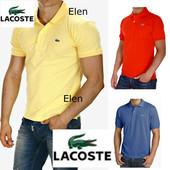 Распродажа мужских теннисок Lacoste хлопок Турция качество супер