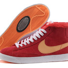 -10% Зимние ботинки Nike 2 красные и малиновые  (35-38 размеры)