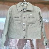 Стильный хлопковый пиджак для мальчика 7 -9 лет Польша