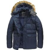 Мужская зимняя куртка пуховик натуральный пух