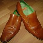 фирменные кожаные туфли 46 р Front стелька 33