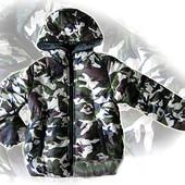 Зимняя куртка для мальчика 98-134см