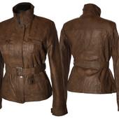 Женская весенняя куртка из еко-кожи