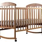 Кроватка детская Наталка Ясень Светлый
