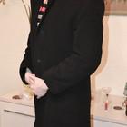 Кашемировое пальто, мужское, р. 52 (М)