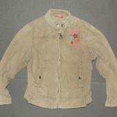 140-158р Джинсовая вельветовая куртка ветровка