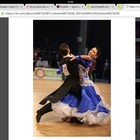 Продам платье для бальных танцев стандарт пошив Тохтамышевой (харьков