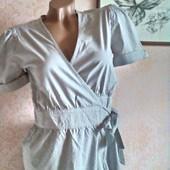Стильная блузка с запахом р-р 42 - 44