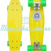 Скейтборд/скейт Penny Board (Пенни борд) Fish: Yellow, до 80кг