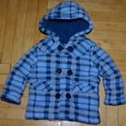 9 - 12 месяцев Очень теплое и мягинькое пальто флисовое мальчику