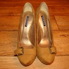 Вечерние туфли Queen с пряжечками р. 37