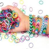 Rainbow loom Bands Набор для плетения браслетов с бусинами инструментами наборы резинок для плетения
