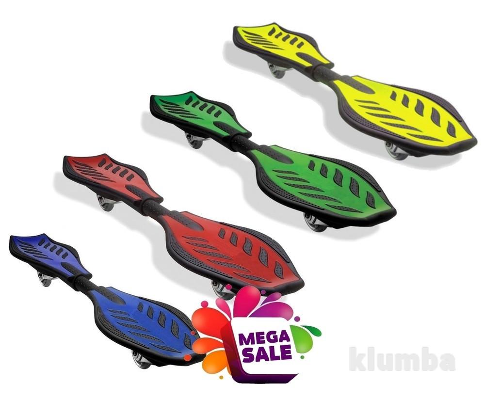 Скейтборд/скейт рипстик Ripstik Razor двухколесный с алюминиевой рамой: 3 цвета фото №1