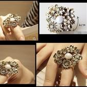 Кольцо Большие цветы