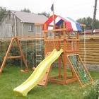 Детский игровой комплекс уличный,игровая площадка BL-3