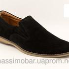 мужские классические туфли натуральный замш,кожаКод: 258