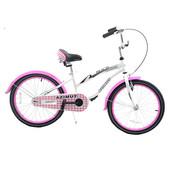 Новинка! Велосипед для девочек Azimut Beach 20 дюймов. розовый и Салатовый