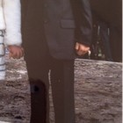 Стильные классический мужской костюм размер S на худенького одет 1 раз