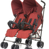 Прогулочная коляска для двойни 4Baby Twins от 6 месяцев до 3 лет