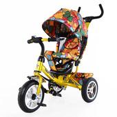 Велосипед трехколесный Tilly Trike T-351 с надувными колесами